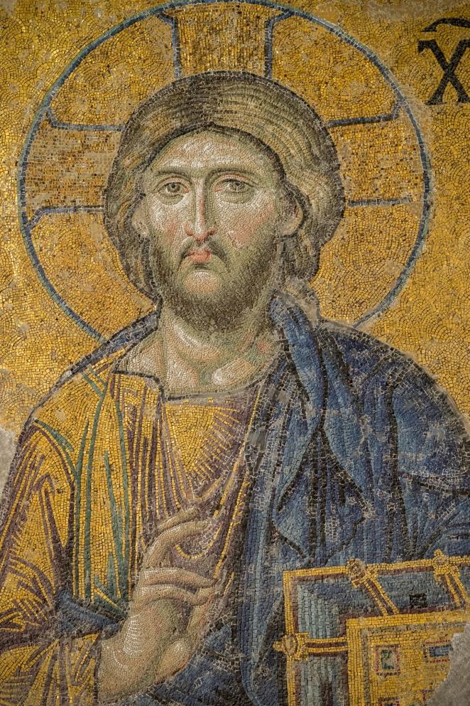 Hagia Sophia - Chrystus Pantokrator