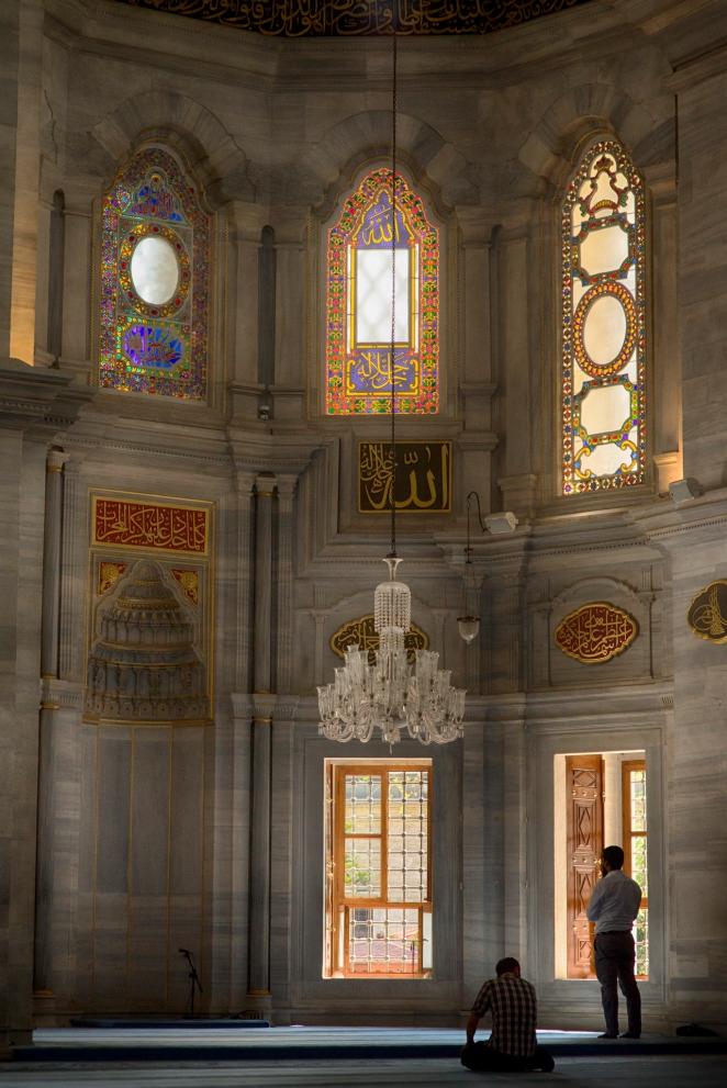 Wnętrze meczetu przy Wielkim Bazarze