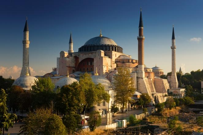 Hagia Sophia - poranek