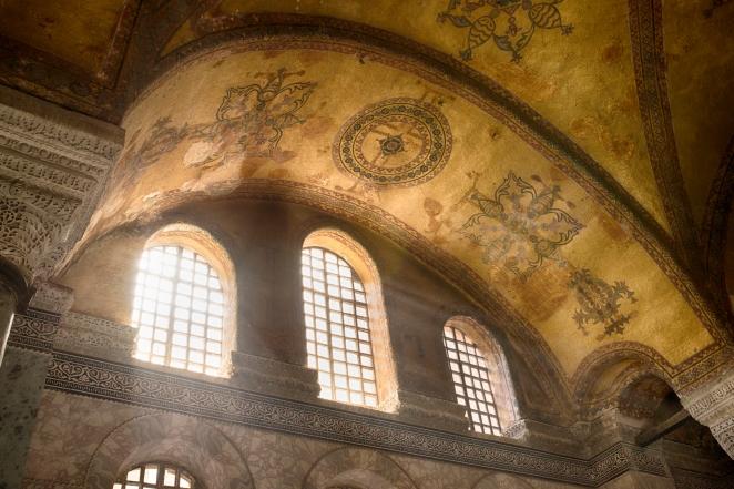 Hagia Sophia - okna galerii